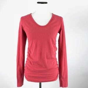 Athleta Ruched Sides LS Active Top #75